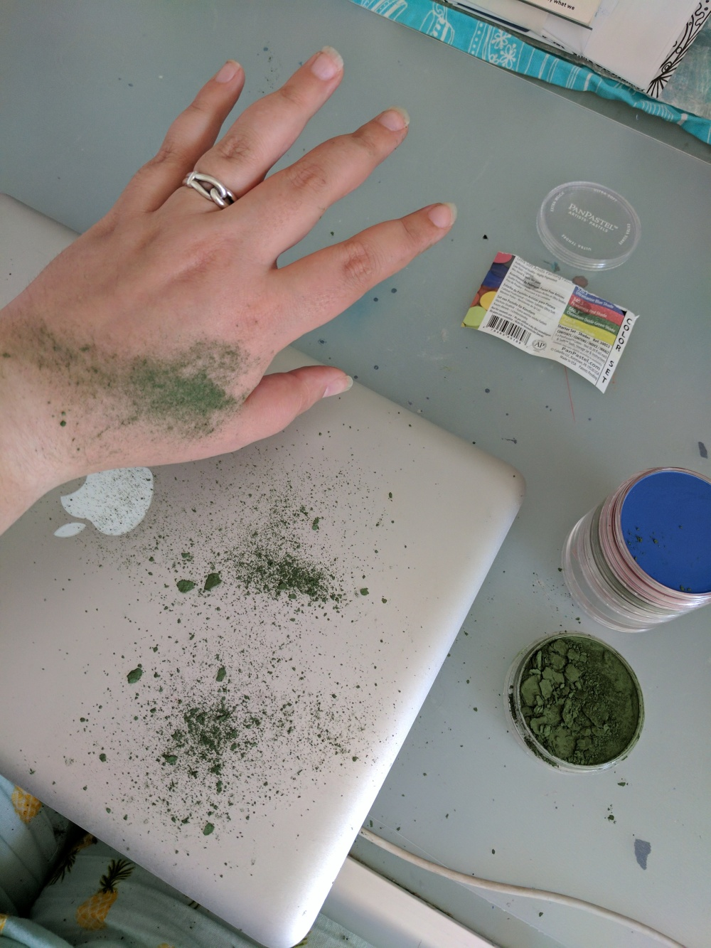PanPastels Green Explosion